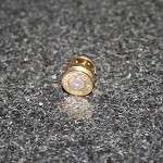 .300 Spent Brass Bullet Hat Pin/Tie Tack