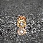 .357 Spent Brass Bullet Hat Pin/Tie Tack