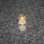 38 Special Spent Brass Bullet Hat Pin/Tie Tack